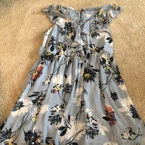 Cute blue floral dress